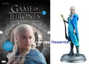Game Of Thrones Official Collector's Models #01 Daenerys Targaryen Figurine & Magazine Eaglemoss